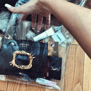 PRADA CAHIER embellished snake anomalier bag